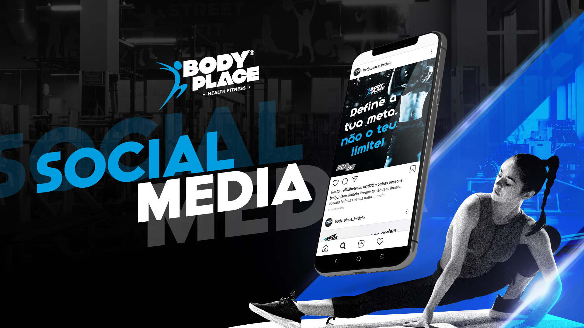 BodyPlace Social Media Portfólio